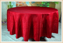Red Stripe Jacquard Tablecloth/Table Cover For Wedding Party Hotel Banquet Home Decorations(Chair covers&Sashes)(China)