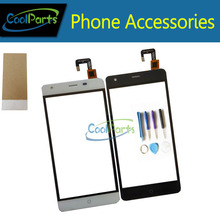 High Quality For Ulefone Power Grey and White Color Touch Screen Digitizer Touch Glass Panel with Tools and Tape Glue 1PC /Lot