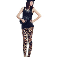 New Arrival Fashion Styles High Waist Sexy Leggings Women Leopard Print Fitness Leggings Pencil Trousers Jeggings Women De6
