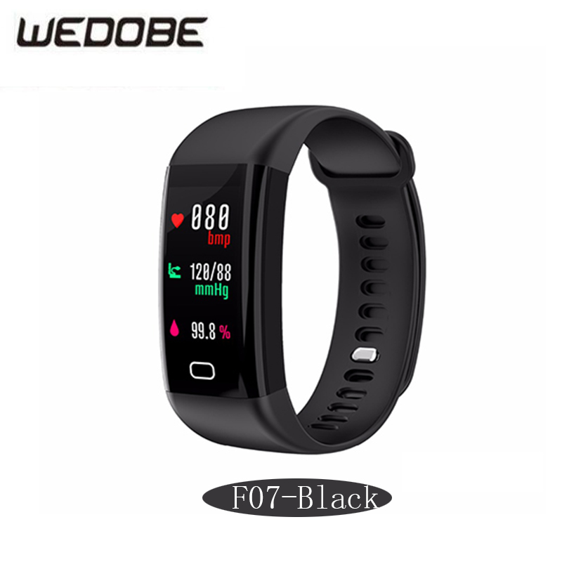 WEDOBE F07 Smart Bracelet Bluetooth 4.4 Heart Rate Moniter Pedometer Sports Fitness Tracker Android iOS pk mi band