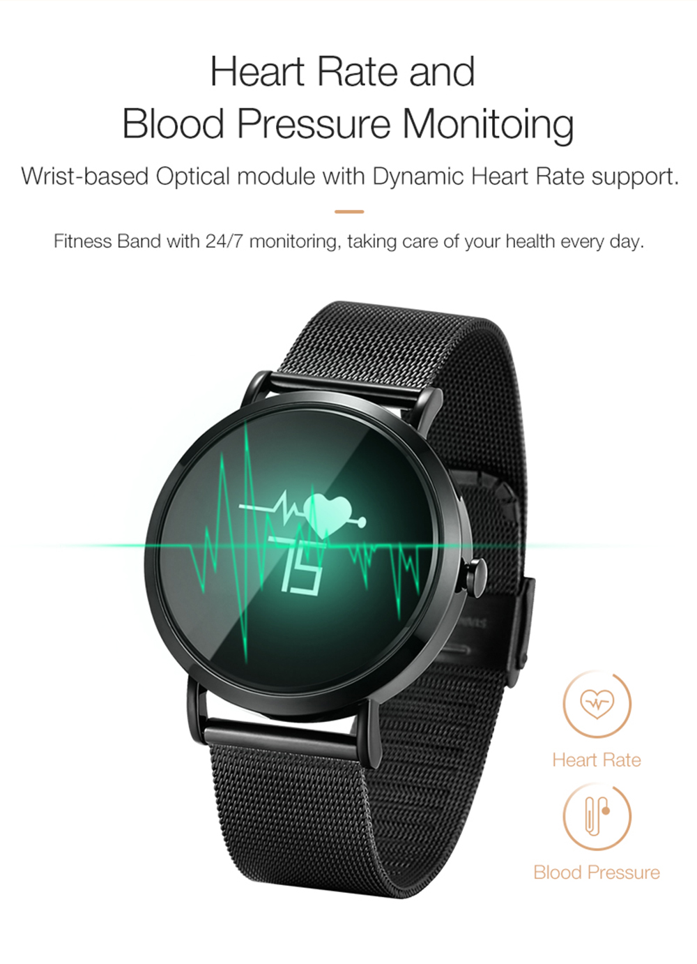 696 Smart Watch Men CV08 Wristwatch Women Sports Smartwatch Fitness Tracker Heart Rate Blood Pressure Monitor for Android IOS Ph 9