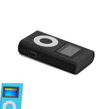 Overmal 2017 Portable USB Sport 3.5mm Stereo Jack Mini MP3 Music Player LCD Screen Support 32GB Micro SD TF Card reader