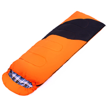POINT BREAK CY-0906-1 Outdoor Camping Cotton Envelope Type Sleeping Bag Comfortable Cotton Flannel Winter Sleeping Bag(China)