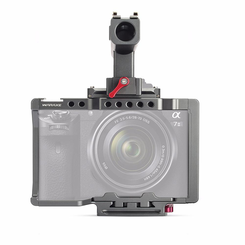 WARAXE-A7-Kit-Camera-Video-Cage-Built-in-Quick-Release-Fits-Arca-Swiss-for-Sony-A7