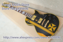 New Arrival Aged Metallica James Hetfield Iron LP Custom Electric Guitars As Picture In Stock