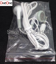 OneOne Cheapest disposable earphone for bus or train or plane for school one time use as gift wholesale 1000pcs/lot