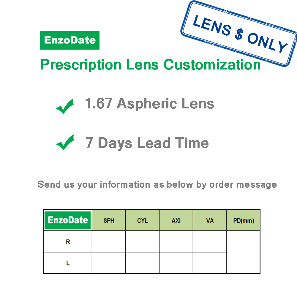 EnzoDate Kids Prescription Lens-AE Amazon