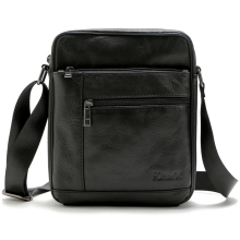 Brand 100% Genuine Leather Men's Crossbody Bag Casual Business Leather Mens Messenger Bag Vintage Men Bag