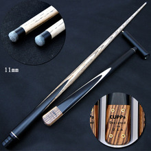 Cuppa Handmade 3/4 Snooker Cues Sticks 11mm Tips With Extension Billiard Cue Bilardo Isteka China(China)