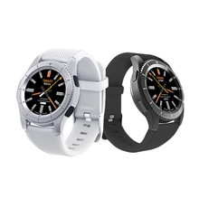 Round Screen 1.3 Inch Bluetooth 4.0 No.1 G8 All Smart Sports Mobile Phone Watch Multifunctional Mode Heart Rate Monitoring
