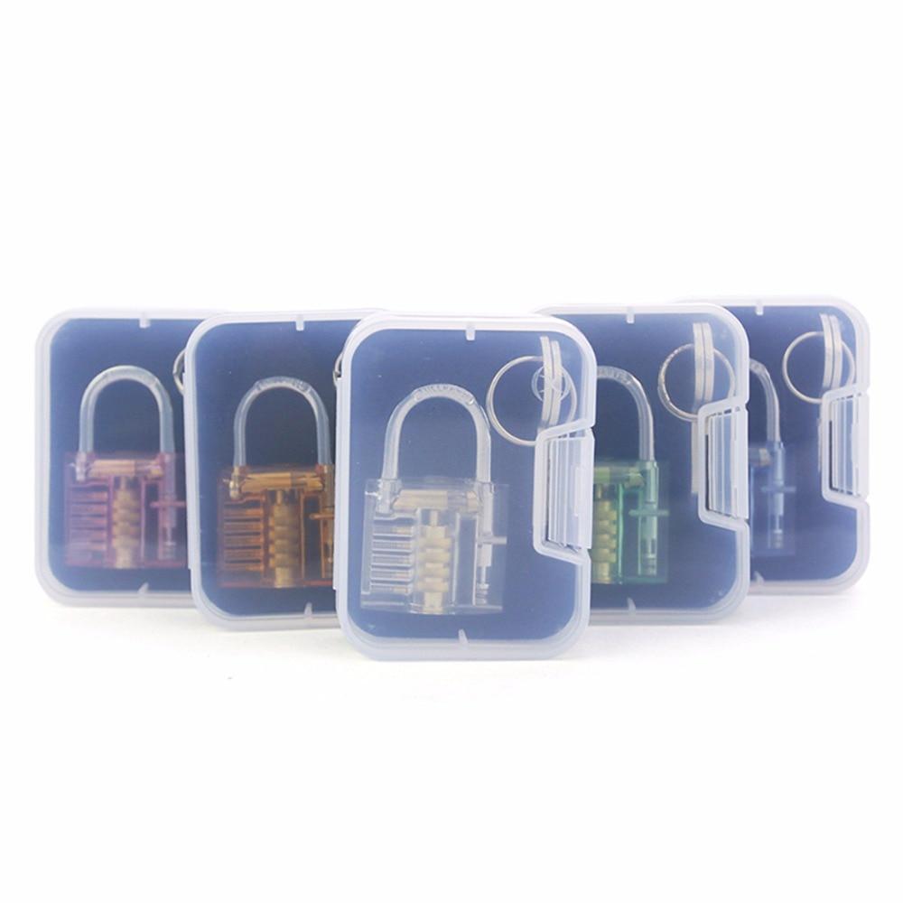 Nosii Mini Portable Padlock Luggage Suitcase Safety Lock Kids Intelligence Toy With 2 Keys Furniture Tool Furniture