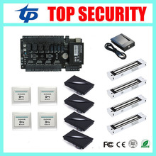 Excellent high security C3-400 4 doors access control panel access control board TCP/IP door access control system door lock