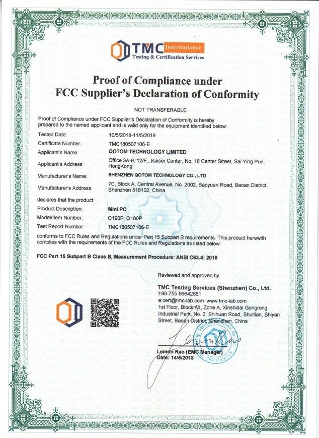 Q190P FCC
