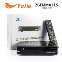 10pcs [Genuine] ZGEMMA H.S Satellite TV Box Receiver DVB S2 Enigma2 Linux OS 2000DMIPS CPU PROCESSOR BCM7362