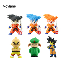 Voylane Real Capacity Dragonball Pen Drive Cartoon Dragon Ball Gift  8GB 16GB 32GB 64GB 128GB SON GOKU USB Flash Drive PenDrives