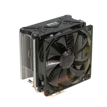 2017 PCCOOLER 5 Heatpipes Radiator Quiet 4pin CPU Cooler Heatsink Fan Cooling with 120mm LED Fan for Desktop Computer(China)