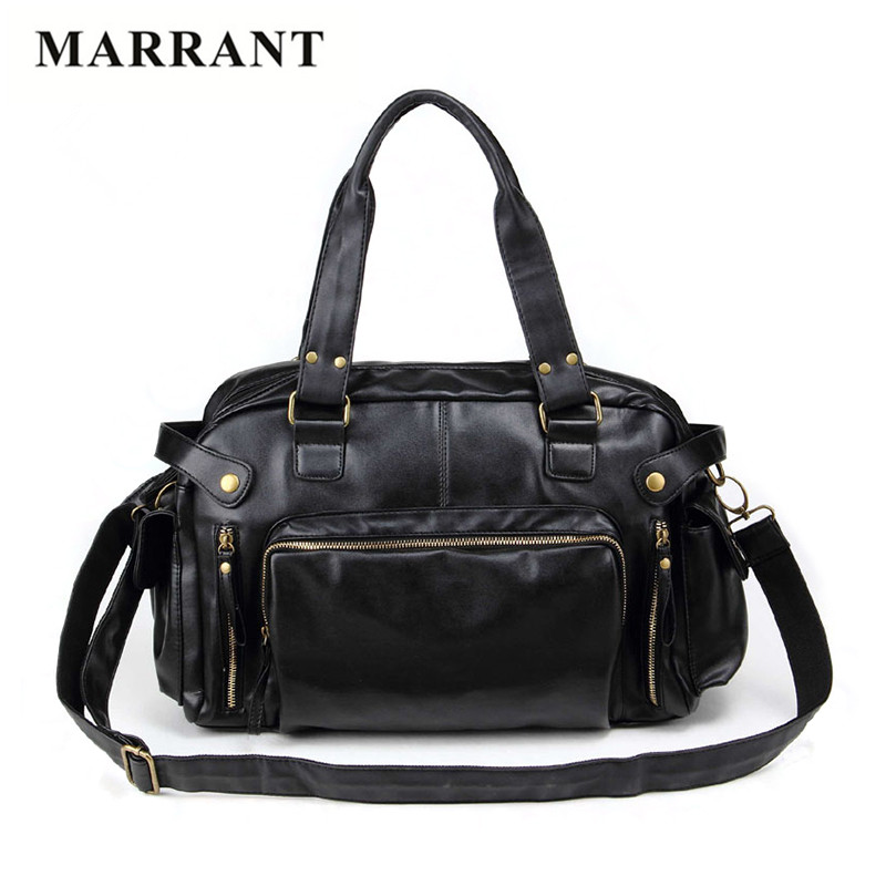 MARRANT 2017 Special Offer Vintage men messenger bags PU leather  Designer handbags high quality large capacity travel Men Bags<br><br>Aliexpress
