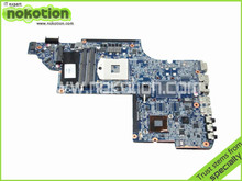 NOKOTION 641485-001 for HP Pavilion DV6 motherboard DV6-6000 intel HM65 DDR3 Socket PGA989 Laptop Mother Board(China)