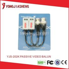 Twisted pair BNC single channel passive UTP video balun