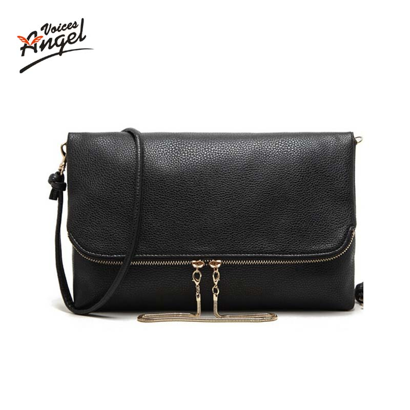 Casual Women Leather Handbag Clutch Bags Fashion Women Bags Chain Women Shoulder Bag Women Messenger Bag Purse Bolsas(China)