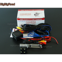 BigBigRoad Car Rear View Reversing Backup Camera with power relay / Filter CCD parking Camera For Brilliance V5(China)