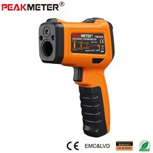 PEAKMETER PM6530B Laser LCD Digital IR Infrared Thermometer Temperature Meter Gun Point -50~550 Degree Non-Contact Thermometer