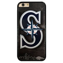 Seattle Mariners MLB Baseball Hard Cell Phone Case Cover Fits For iphone 4 4s 5 5s 6 6s 6 plus 7 7 plus ipod Touch5 6 #T0222