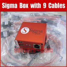 100% Original newest version Sigma Box+9cables and repair for Nokia,ZTE,Huawei Free shipping(China)