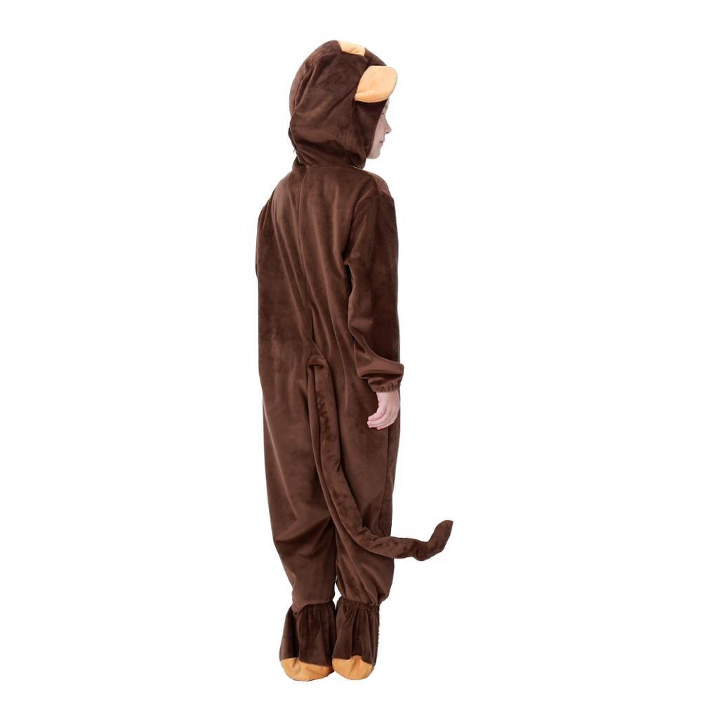 de1387414 Child Monkey Jumpsuit Costume Boy Girl Pajamas Animal Pyjamas ...