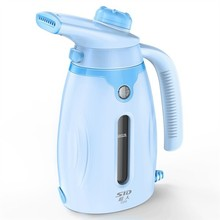 freeshipping Handheld Portable Garment Steamer 0.25L Water Tank Capacity 800W Power Blue