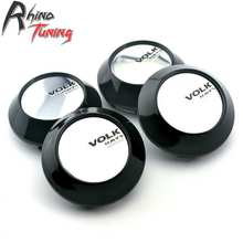 Rhino Tuning 4PC 68mm Volk RAYS Japan Made Car Wheel Center Centre Hubs Cap Auto Styling Emblem 475(China)