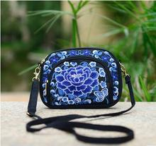 New Coming Promotion Embroidery Small bags!Hot Women Cute bags fashionable Ethnic National Versatile Lady's canvas Shopping bags(China)