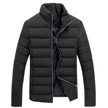 2016 Real Rushed Polyester Regular Standard Jackets Mens Men Jacket Winter Good Quality Collar Cotton Padded Man Coat
