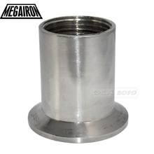 "1"" DN25 Sanitary Female Threaded Pipe Fittings with Ferrule Stainless Steel SS316 Tri Clamp Type"