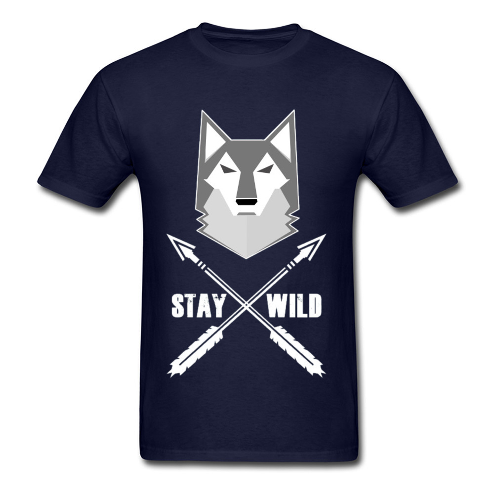 0314WD032 100% Cotton Tops & Tees for Men Casual T-shirts Fashionable Prevailing Crewneck Tops & Tees Short Sleeve 0314WD032 navy