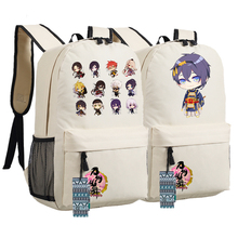Touken Ranbu Online Mikazuki Munechika kogitsunemaru Fox Ball Cosplay Cartoon Printing Backpack Anime School Bags Backpack Women(China)