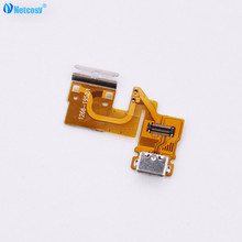 Netcosy For Sony Xperia Tablet Z USB Dock Charging Port Back Rear TabletZ Flex Cable Charger Connector Ribbon Replacement(China)
