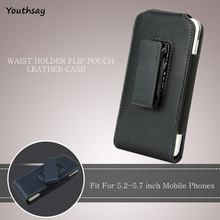 "Youthsay 5.2-5.7"" Belt Clip Case For Xiaomi Redmi Note 4 Holster Phone Case For Xiaomi Redmi Note 4 Phone Bag For Redmi Note 4 <(China)"