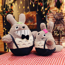 Hot Sale 35cm Super Soft Kawaii Cute Totoro Plush Toys Pillow Kids Stuffed Toy GirlsDoll for Children Birthday Christmas Gifts(China)