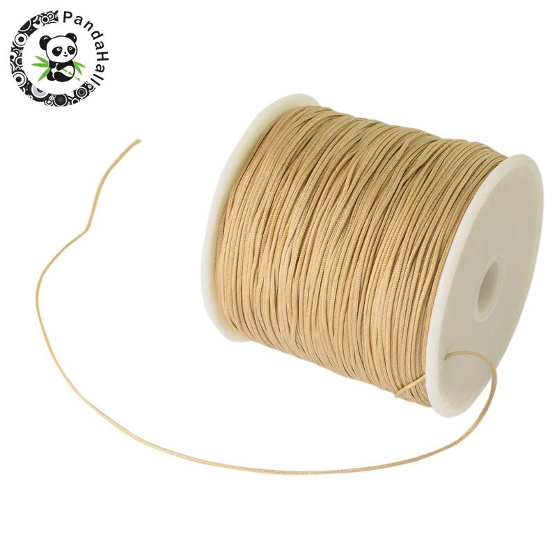 0.8mm 90m/roll Nylon Thread Cord For Bracelets Beading Necklace Jewelry DIY Accessories Making 7