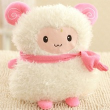 36x25cm 5 Colors Goat Sheep Stuffed Plush Toy Doll Animal Girl Valentines Gift  Fast Delivery Good Quality Soft Cute Lamb Fat