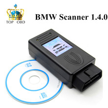 2017 FOR BMW Scanner 1.4.0 Version OBD2 Code Reader 1.4 OBD Diagnsotic Tool fast free shipping