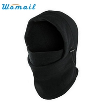 High Quality  Fashion 6 in 1 Neck Balaclava Winter Face Hat Fleece Hood Ski Mask Warm Helmet JAN 04 Hot Dropship