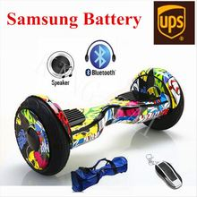 10 inch Hoverboard Bluetooth Speaker LED Light 2 Wheel Scooter Self Balancing Smart Balance Electric scooter - KING-TAI store