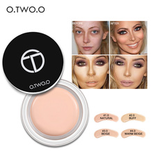 O.TWO.O 4colors Face Concealer Cream Makeup primer Oil-control Invisible Wrinkle Cover Pores Concealer Foundation Base Makeup(China)