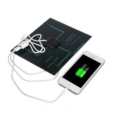 Energy saving Solar Panel USB Travel Battery Charger 5V 3.6W 500mA Supply For iPhone HTC SAMSUNG xiaomi huawei