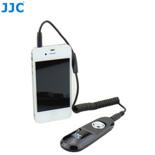 JJC Remote Shutter Cord Release Cord Replaced Cable Remote Control for  iPhone/iPad/iPod Touch photos and videos