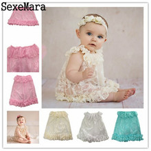 2017 Fashion Princess Baby Girl Lace Baby Photography Props Newborn Photography Handmade Lace Scarf Baby Photo Props Accessories