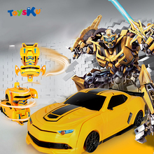 Super Transformation Remote Control Car Wall Climb Stunt RC Car RC Toy Car Model Deformation Robot Toys Gifts for Children