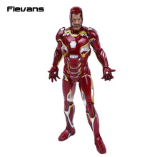 "Crazy Toys Iron Man MARK XLV Limited Edition PVC Figure Collectible Model Toy 12"" 30cm"